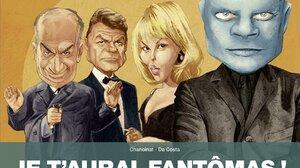 Men Movies Fantomas Jean Marais French Mylene Demongeot Blonde Actress Women Cartoon Drawing Movie P 1692x1400 Wallpaper