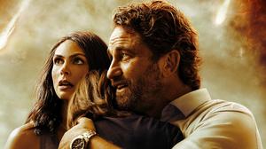 Gerard Butler Greenland Movie Morena Baccarin 4000x3311 Wallpaper
