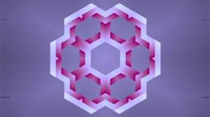 Artistic Digital Art Kaleidoscope Pink Violet 4250x2250 Wallpaper