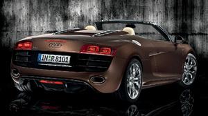 Audi R8 V10 Spyder Brown Car Car Convertible Sport Car 1920x1080 Wallpaper