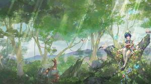 Venti Genshin Impact Genshin Impact Anime Boys Video Game Characters 1916x868 Wallpaper