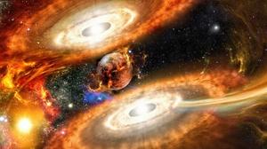 Space Stars 3600x1960 Wallpaper