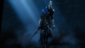 Artorias Dark Souls Dark Souls Sword Warrior 4000x2250 wallpaper