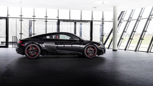 Audi R8 Audi Car Black Car Sport Car 3840x2160 Wallpaper