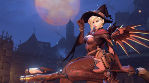 Mercy Overwatch Overwatch Witch 3840x2160 Wallpaper