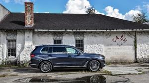 Bmw Bmw X7 Blue Car Car Luxury Car Suv 4096x2731 Wallpaper