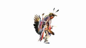 Artistic Native American 1920x1080 Wallpaper