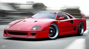 Car Ferrari Gran Turismo Italy Red F40 Ferrari F40 Pop Up Headlights 3840x2160 Wallpaper