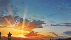Cloud Sky Sunset Sunshine 3840x2160 Wallpaper