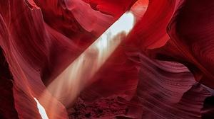 Canyon Nature Rock Sunbeam 2048x1377 Wallpaper