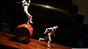 Star Wars Stormtrooper Star Wars Humor Can Toys Action Figures 1920x1080 Wallpaper