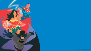 Batman Superman Wonder Woman Dc Comics 3840x2160 Wallpaper