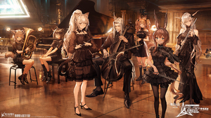 Video Games Arknights Video Game Characters Suzuran Arknights Silence Arknights Schwarz Arknights He 1920x1080 Wallpaper