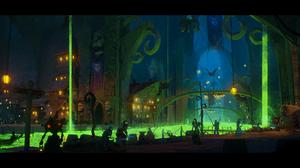 World Of Warcraft Horde Undercity 3000x1560 Wallpaper
