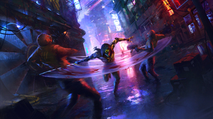 Cyberpunk Ghostrunner Sci Fi 3840x2160 Wallpaper