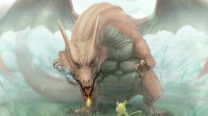 Charizard Pokemon Pikachu Pokemon 1920x1371 Wallpaper