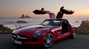 Car Mercedes Mercedes Benz Sls Red Car 1920x1200 Wallpaper