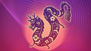 Artwork Dragon Chinese Dragon Simple Background Loong 1920x1080 Wallpaper