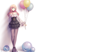 Balloon Girl 2300x1400 Wallpaper
