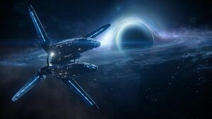 Hyperion Ark Mass Effect Andromeda Mass Effect Andromeda Space Black Holes Galaxy Science Fiction Sp 1920x1080 Wallpaper