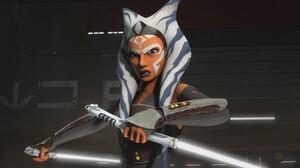 Ahsoka Tano Star Wars Rebels TV Lightsaber Jedi 1920x1080 Wallpaper