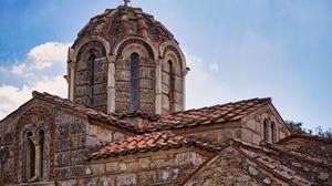 Greece Building Church 4020x2680 Wallpaper