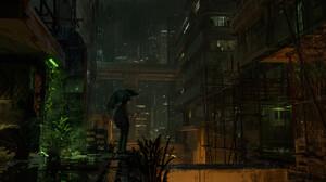 Artwork Digital Art City Night 1920x817 Wallpaper