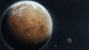 Artwork RimWorld Space Planet Spaceship Stars 1920x1080 Wallpaper