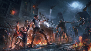 Resident Evil Jill Valentine Ada Wong Leon S Kennedy Video Games Artwork Video Game Characters Creat 1920x1080 Wallpaper