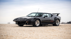 Black Car Car Coupe De Tomaso Pantera Gt5 Sport Car 3000x2000 wallpaper