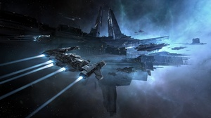 Space Spaceship Space Station 2560x1440 wallpaper