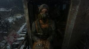 Metro Exodus Video Games Video Game Girls Apocalyptic Survivor Survival Screen Shot Mask Gas Masks 3840x2160 Wallpaper
