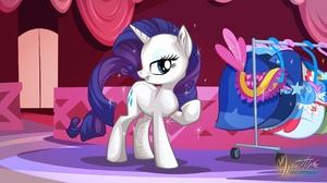 Rarity My Little Pony 2560x1440 wallpaper