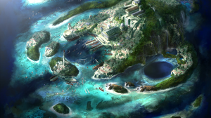 Diablo Iii Harbor Island 2386x1543 Wallpaper