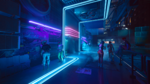 Cyberpunk Cyberpunk 2077 CD Projekt RED Neon Vaporwave Synthwave 1920x1080 wallpaper