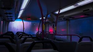 Singapore Buses Photography Edit Lights 2788x1569 Wallpaper