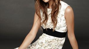 Alicia Vikander Women Actress Indoors Brunette Long Hair On The Floor Studio Simple Background White 1000x1333 Wallpaper