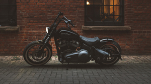 Motorcycle Vehicle Street Wall 3000x1688 Wallpaper