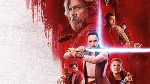Carrie Fisher Chewbacca Daisy Ridley Finn Star Wars Leia Organa Luke Skywalker Mark Hamill Poe Damer 3840x2400 Wallpaper