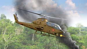 Attack Helicopter Aircraft Helicopter 2000x1444 wallpaper