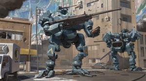 Robot 3500x1945 Wallpaper