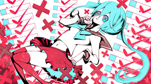 Hatsune Miku 2560x1440 Wallpaper