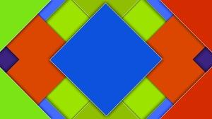 Artistic Colors Digital Art Geometry Square 1920x1200 Wallpaper