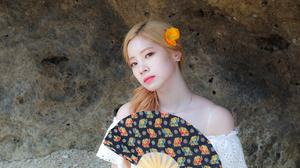 Twice K Pop Singer Women Sunlight Twice Dahyun Asian 1284x865 Wallpaper