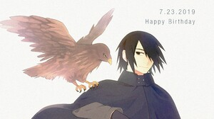 Sasuke Uchiha 3299x1857 Wallpaper