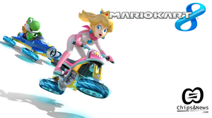 Mario Kart 8 Princess Peach Yoshi 1920x1080 Wallpaper