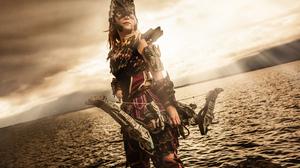 Cosplay Ellebasi Aloy Horizon Zero Dawn Video Game Girls Bow Photography Women Horizon Zero Dawn Mod 2400x1600 Wallpaper