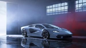 Car Sports Car Hypercar Lamborghini Lamborghini Countach 4500x3000 Wallpaper