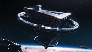Artwork Science Fiction Space Spacestation 1734x1092 Wallpaper
