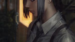 GUWEiZ Digital Art Digital Painting Artwork Women Fictional Character Tie Bad Guys 1440x1800 Wallpaper